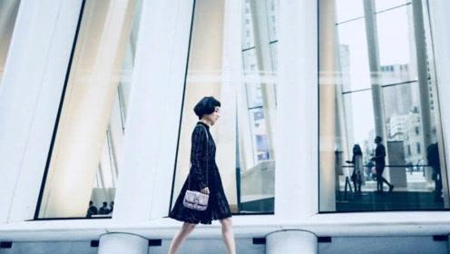 """吴昕上纽约时装周被称为""""东北赫本"""" 时尚感爆棚了"""