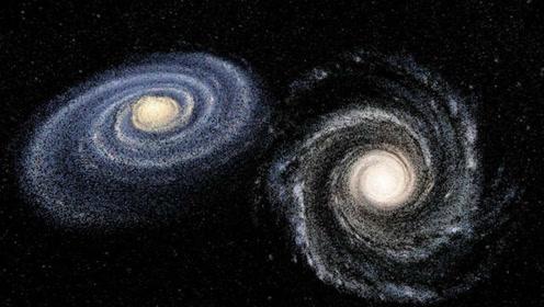 """37.5亿年后,银河系将会和仙女座星系""""碰撞"""",地球何去何从?"""