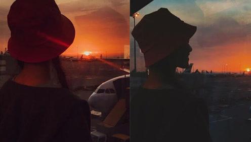 倪妮分手后首晒照 拍照技巧简直就是妹纸的旅行照范本