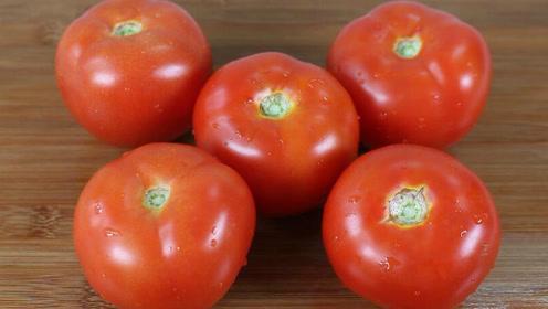 家庭腌制的西红柿酱,做法简单,不放任何调料,吃一年不会坏