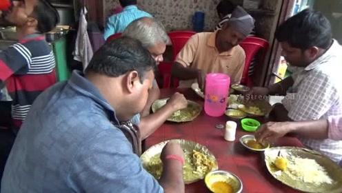 印度平民快餐店,看看最真实的印度人都吃些什么