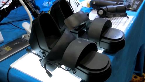 VR再升级,不仅有头盔,如今还有VR鞋子啦!