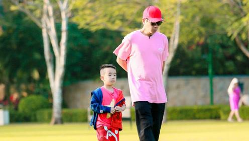 陈小春反对儿子进娱乐圈 称Jasper主动上《爸爸6》