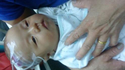 5个月宝宝发高烧,奶奶的做法,医生怒斥太无知