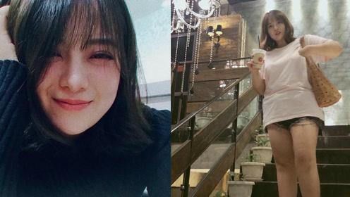 天使脸女孩诠释90斤脸蛋200斤身体 网友崩溃:不科学