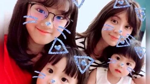 贾静雯大方分享侄女和三个女儿真名 网友:太好听了仙女家族