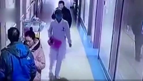 湖南:过路护士走廊中毫无防备 突然被病人男家属殴打