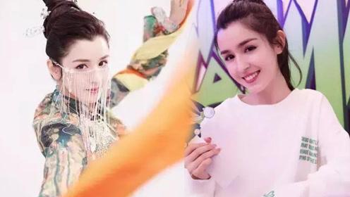 新疆丫头火了 网友:神仙颜值张柏芝和迪丽热巴的结合