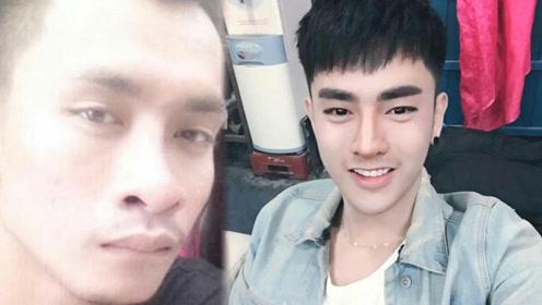 """泰国男子因丑找不到女友,整容30次变身""""韩国明星"""""""