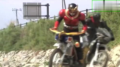假面骑士空我:平成假面骑士,最经典的飙车戏,教科书级别的一集