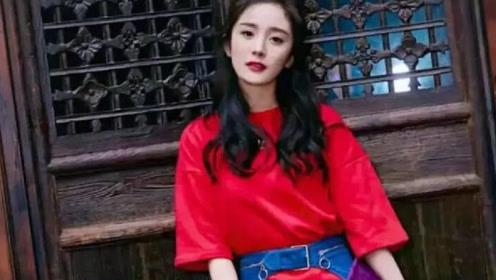 杨幂拍广告时,无特效花絮曝光,网友被她的腿围吸引了!