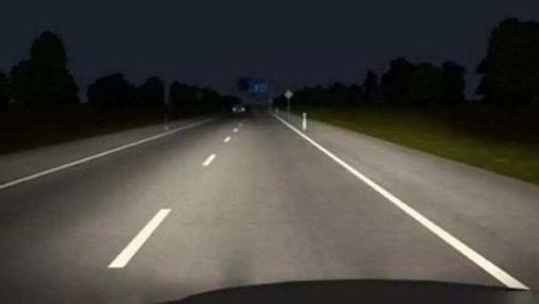 晚上开车有技巧需要掌握?老司机的做法很安全,新手多学学