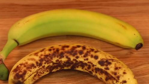 """长黑斑的""""香蕉""""还能吃吗?原来我一直都错了,后悔才知道!"""