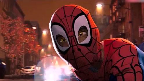 《蜘蛛侠平行宇宙》新老蜘蛛侠帮助小蜘蛛,为正义而战,开启新纪元