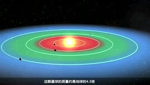 天文学家找到第二个地球,连生活环境都神似,体积是地球4—3倍
