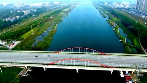 高清航拍,安徽省历史文化名城,云都宿州