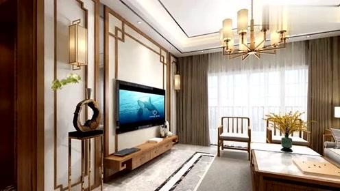 新中式风新房,美观大气、温馨舒适,年轻人也喜欢!