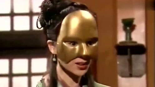 神雕侠侣:程英芳心暗许杨过,摘下面具的那一刻,杨过都被惊艳到
