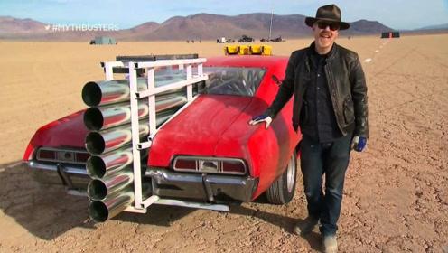 世界上最牛的喷气式跑车,弹射起步那一刻,场面叹为观止!