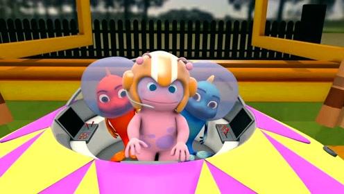 第18集看点 菲乐菲宝翱翔太空,拯救外星人!