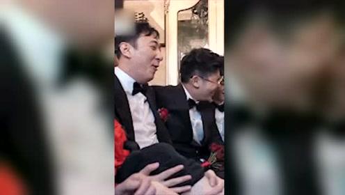 王思聪参加朋友婚礼视频曝光,被撕腿毛没想到校长也有今天
