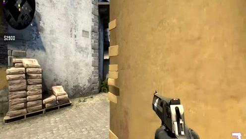 CSGO:老陈手枪一颗子弹直接爆头击杀敌人
