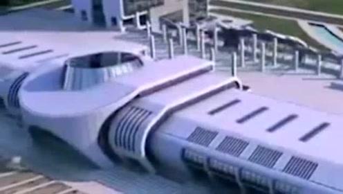 """最牛搬家!厦门3万吨长途汽车站 成功""""平移""""288米 转身90°"""