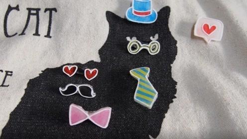 夏天来了, DIY7个手绘别针,装饰你的帆布包