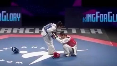 中国的冠军被偷走,现场观众炸了!赛后采访当事人这样说!