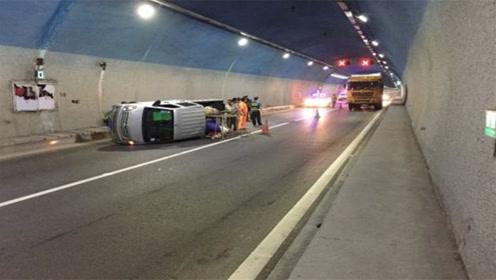 为何轿车进入高速隧道不走右侧,老司机说出真相,吓出一身冷汗