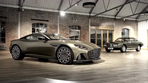 阿斯顿·马丁 DBS Superleggera OHMSS Edition