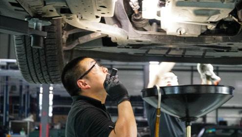 汽车首次保养需要注意!不懂的人只有被坑,懂的人笑开了花!