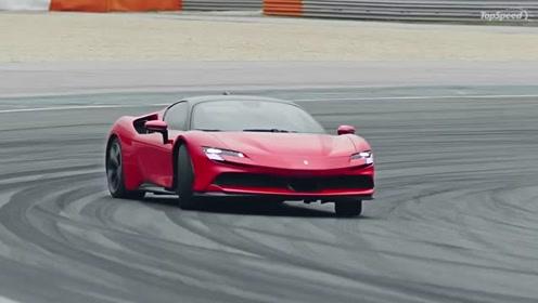 Ferrari千匹PHEV超跑:SF90 Stradale