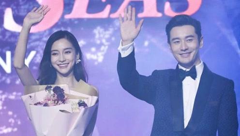黄晓明baby合体出席活动 为老婆提裙子力破离婚传闻