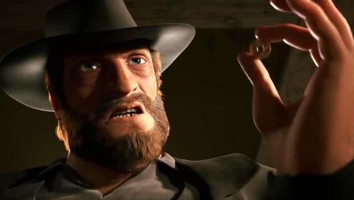 美国西部抢手调侃东方剑客,以为自己很厉害,最终丢了性命!
