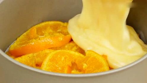 车厘子自由仍需努力,但橘子自由已经get,做个橘子蛋糕吧
