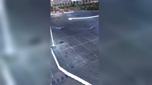 赛车手们秀漂移,是时候展现真正的技术了!
