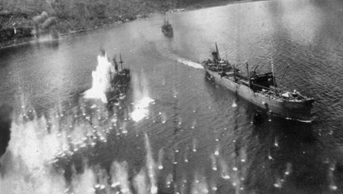 美军互相残杀!水兵铺国旗呼叫救援,却被美战机炸成一滩血水