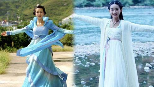 """盘点古装剧""""留仙裙""""装扮,刘诗诗淑女,赵丽颖霸气,而她的最惊艳"""