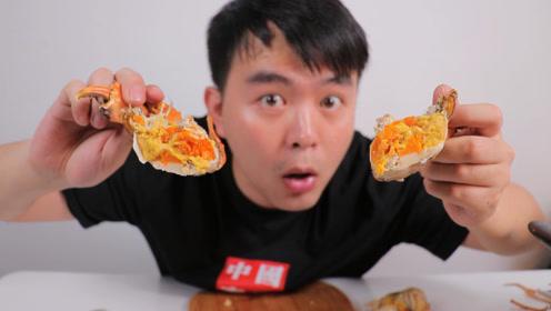 试吃中国最奢侈美食,1800一斤的黄油蟹,从来没被坑这么惨过