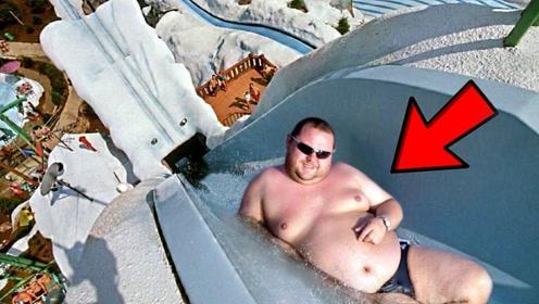 5个最疯狂刺激的水上滑梯!传说中的死亡滑梯?