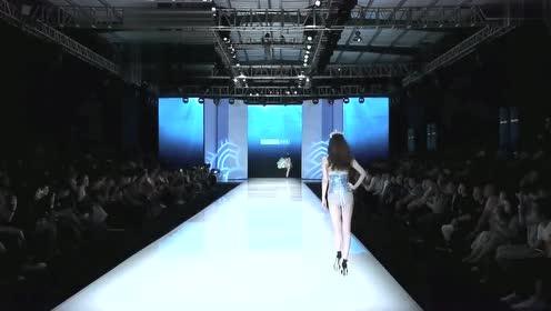 中国内衣秀,模特薄纱造型,简直是仙气十足