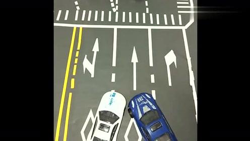 新手司机注意,开车不开斗气车,这种情况被撞也要负全责!
