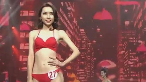 时尚T台内衣走秀,国内美女模特齐上阵,展示完美身材