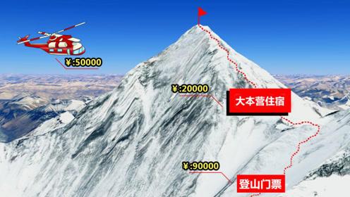 普通人爬一次珠峰,需要花多少钱?看完真是开眼界了
