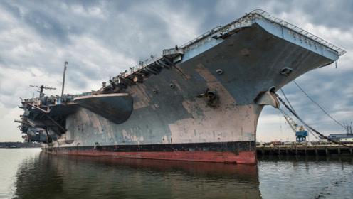 8万吨核航母废弃多年,拆解费飙升10亿,盼中国船厂回购拆解
