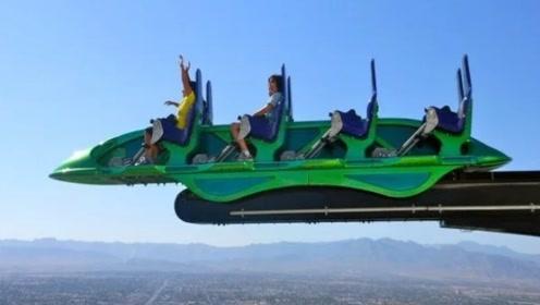 只有八米的过山车,但乘坐过的人都表示:不想再坐第二次!