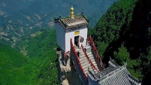 中国最不可思议的建筑!三面都是悬崖峭壁,这到底怎么建成的