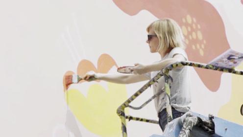 跨越语言和文化,阿根廷艺术家用墙绘,呼吁人类与自然和谐共处