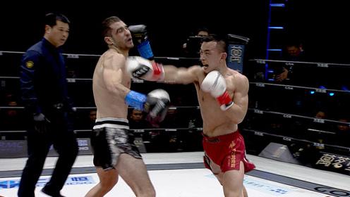 泰拳王欧洲冠军都干掉,砸头爆肝KO,世界冠军铁英华铸就传奇